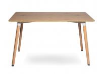Стол Eames 9BT 120 см Деревянный