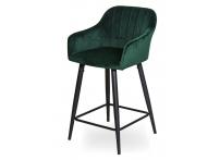 Полубарный стул ДЖУЛЬЯНА ЛОУ WY-22L Зеленый