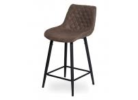 Полубарный стул КУАЛА WY-25 Орехово-коричневый