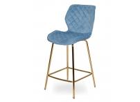 Полубарный стул МЕРСИ WY-28 Голубой