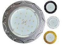 Встраиваемый штампованный потолочный светильник под лампу GX-53 DL5384