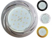 Встраиваемый штампованный потолочный светильник под лампу GX-53 DL5386