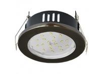 Встраиваемый светильник GX53 с влагозащитой IP65 H9 черный