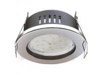Встраиваемый светильник GX53 с влагозащитой IP65 H9 хром