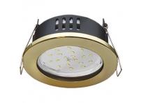 Встраиваемый светильник GX53 с влагозащитой IP65 H9 золото