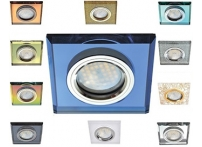 Встраиваемый хрустальный потолочный светильник под лампу MR-16 DL1651