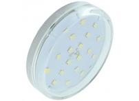 Лампа светодиодная Ecola standart GX53 6W 4200 K прозрачная