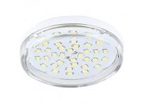 Лампа светодиодная Ecola Light GX53 8W прозрачная