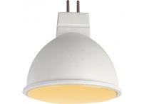 Лампа светодиодная Ecola standart MR16 7W золотистая матовая