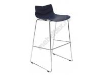 Барный стул LEAF-06 Голубой