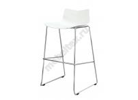 Барный стул LEAF-06 Белый