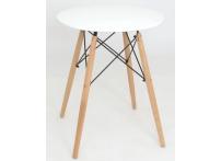 Обеденный стол EAMES DSW d60 белый