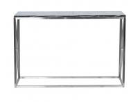 Консоль искусственный черный мрамор/мат.хром 47ED-CST023
