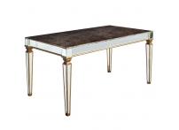 Обеденный стол зеркальный KFC1152E7B 160см
