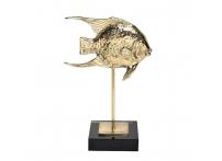 """Статуэтка """"Рыба"""" золотая 55RD3641S"""