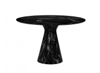 Стол обеденный круглый черный 33FS-DT120-BL