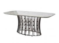 Стол обеденный 45EX-DT122 Светло-серый