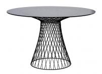 Стол обеденный круглый черный 46AS-DT5019-BL
