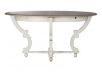Стол обеденный раскладной (белый) SH-HH.DT.11