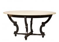 Стол обеденный раскладной (черный) SH-HH.DT.11