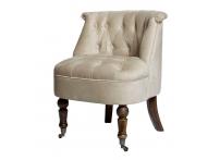 Кресло HD2202868-BTD бежевое на колесиках