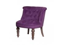 Кресло бархатное PJC742-2311 сиреневое