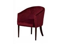 Кресло велюровое FC-32RE красное