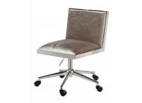 Кресло велюровое GY-OC7976 серое