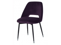Стул велюровый 46AS-CH3073 Фиолетовый