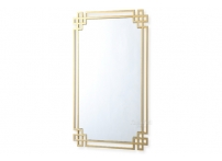 Зеркало прямоугольное в золотой раме KFE1270