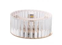 Встраиваемый хрустальный потолочный светильник под лампу G-9 Y0125-4 золото