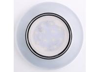 Встраиваемый хрустальный потолочный светильник под лампу GX-53 с LED подсветкой GX001L-M1 матовый