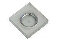 Встраиваемый хрустальный потолочный светильник под лампу MR-16 с LED подсветкой S4020L-M1 матовый