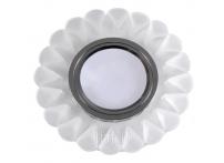 Встраиваемый хрустальный потолочный светильник под лампу MR-16 с LED подсветкой D1027L-M1 матовый