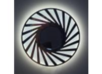 Встраиваемый хрустальный потолочный светильник под лампу MR-16 с LED подсветкой DM005L матовый