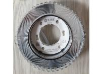 Встраиваемый хрустальный потолочный светильник под лампу GX-53 с LED подсветкой GX5320L-11 прозрачный/белый