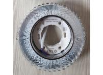 Встраиваемый хрустальный потолочный светильник под лампу GX-53 с LED подсветкой GX5321L-11 прозрачный/белый