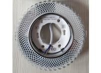 Встраиваемый хрустальный потолочный светильник под лампу GX-53 с LED подсветкой GX5329L-11 прозрачный/белый