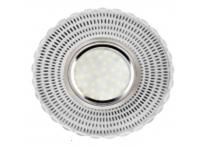 Встраиваемый акриловый потолочный светильник под лампу MR-16 с LED подсветкой K1161L-1 прозрачный