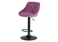 Барный стул LOGAN BLACK LM-5007 Пудрово-сиреневый