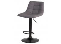 Барный стул TAILOR LM-5017 BlackBase Серая ткань