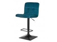 Барный стул DOMINIC LM-5018 Морская волна велюр