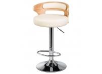 Барный стул LMZ-1018 Кремовый