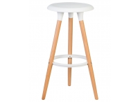 Барный стул LMZL-PP652 Белый