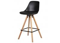 Полубарный стул RONNI LMZL-PP759A-1 Черный