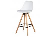 Полубарный стул RONNI LMZL-PP759A-1 Белый