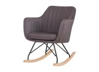 Кресло-качалка KIARA LM-3257 Серое