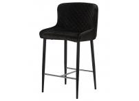 Полубарный стул LML-8297 CHRISTIAN Черный