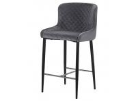 Полубарный стул LML-8297 CHRISTIAN Темно-серый