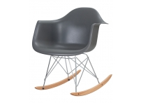 Кресло-качалка DAW ROCK LMZL-PP620A Серый